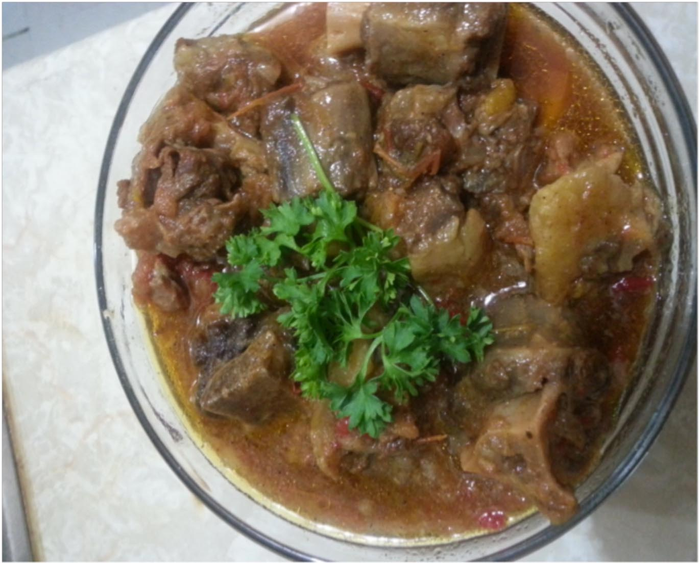 Lindy's Oxtail Stew
