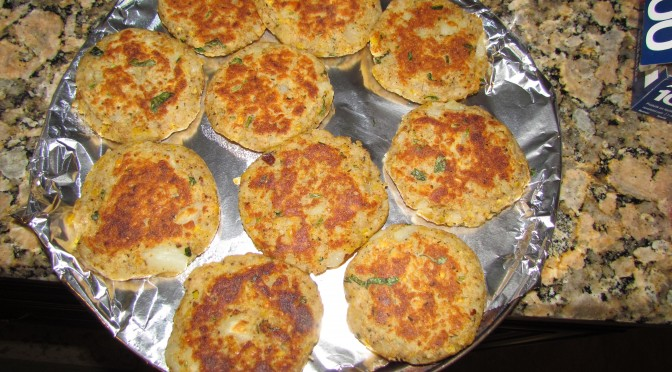 Potato Patty (Aloo Tikki)