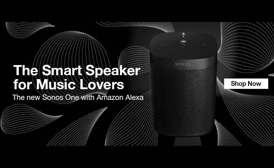 Sonos One, the smart speaker for music lovers