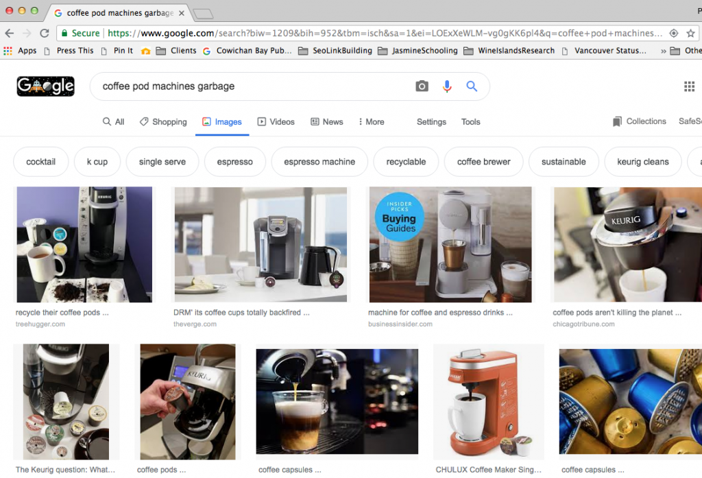 Search results for coffee pod garbage