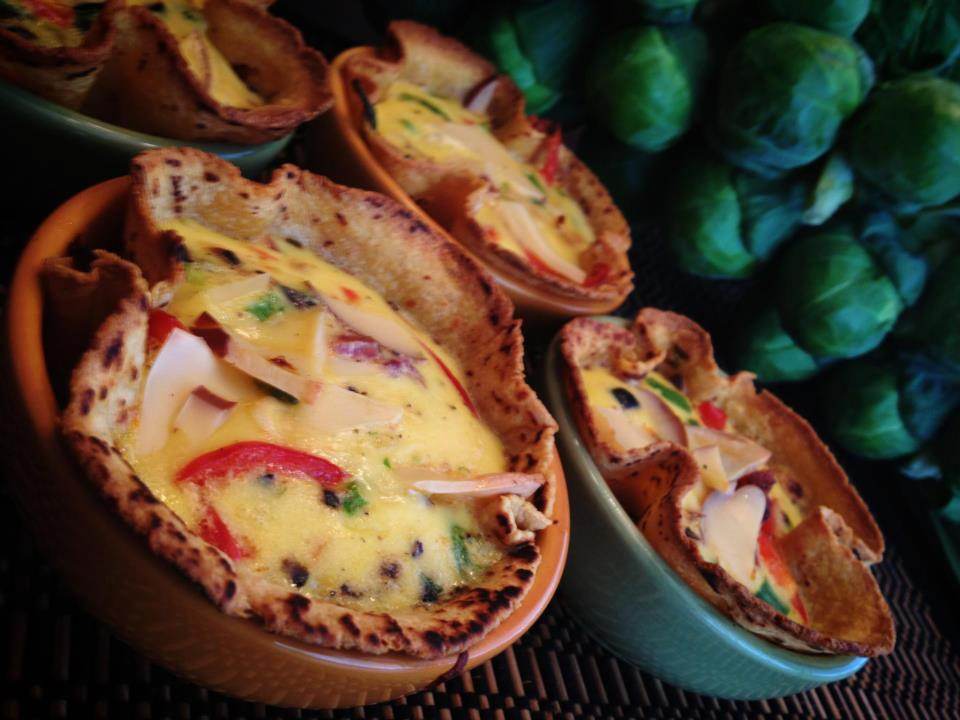 Southwestern Breakfast Tortilla Bowl