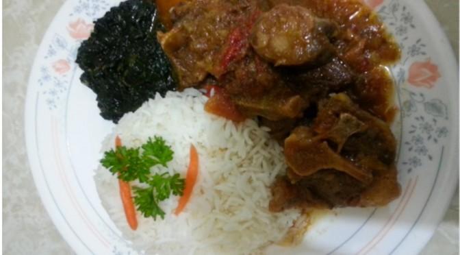 Zimbabwean Oxtail Stew