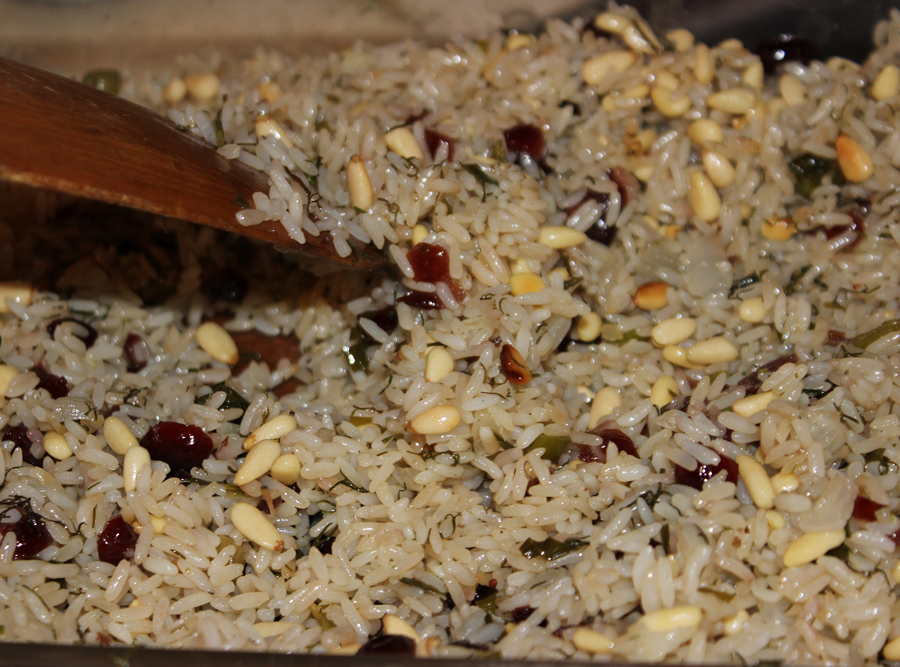 Cooling rice