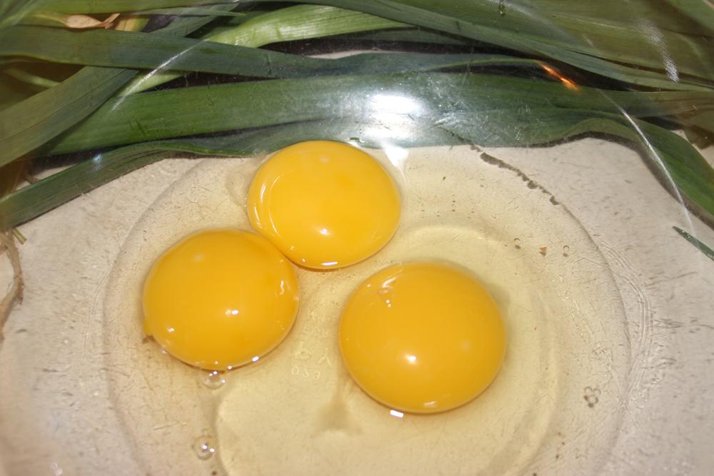 Eggs, Double-boiler