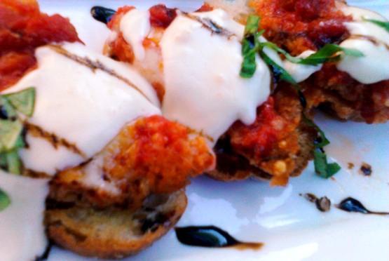 Osteria Di Ganzi Eggplant Parmesan