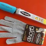 Microplane Grater & Glove