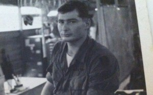 Bill Wimberly in the army