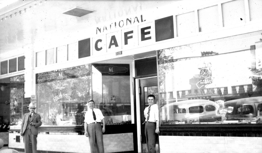 The National Cafe - Vernon, BC. - Uncle Jeff