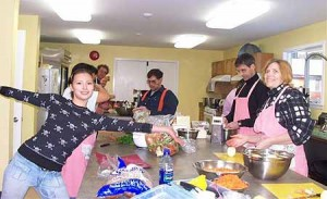 Cowichan Community Kitchen in Use